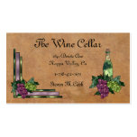 Wine or Grapes Business Card Templates