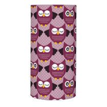 Wine Owls Flameless Candle