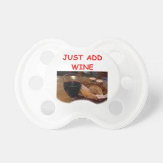 wine pacifier