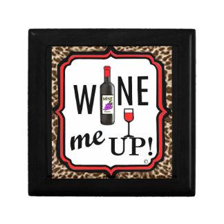 ¡Wine para arriba! Caja De Recuerdo