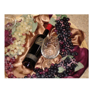 Wine Party Invitation Celebration Postcard