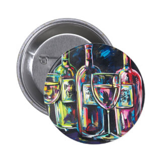 WINE PINBACK BUTTONS
