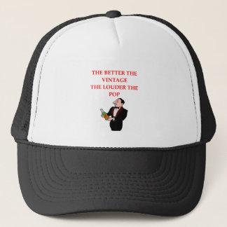 WINE.png Trucker Hat