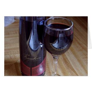 Wine Port Framboise Greeting Card
