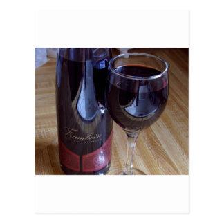 Wine Port Framboise Postcard