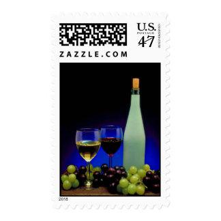 Wine Postage Stamp
