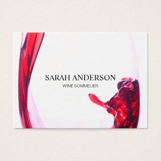 Wine Pour Business Card