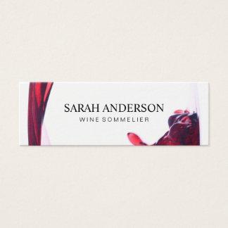 Wine Pour Mini Business Card