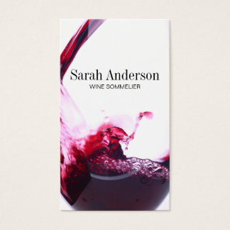 Wine Pour | Splash Business Card