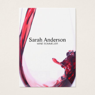 Wine Pour | Splash II Business Card