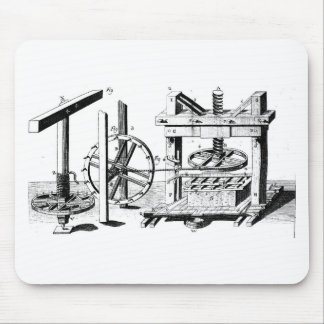 Wine Press Mouse Pad