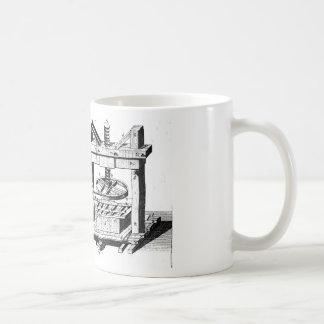 Wine Press Classic White Coffee Mug