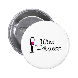 Wine Princess Pins