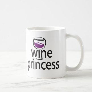 Wine Princess Coffee Mug