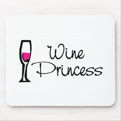 Wine Princess Mouse Mats