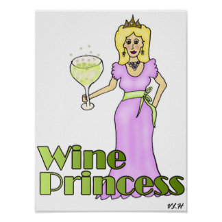 Wine Princess Poster