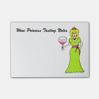 Wine Princess Tasting Notes