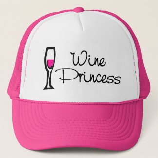 Wine Princess Trucker Hat