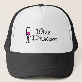 Wine Princess Trucker Hat