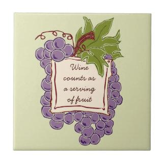 Wine Quote Tile Trivet