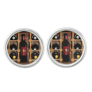 Wine Rack Abstract Cuff Links