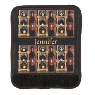Wine Rack Abstract Luggage Handle Wrap