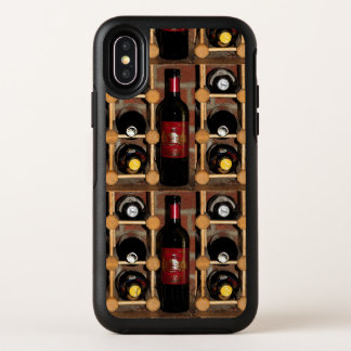 Wine Rack Abstract OtterBox iPhone X Case