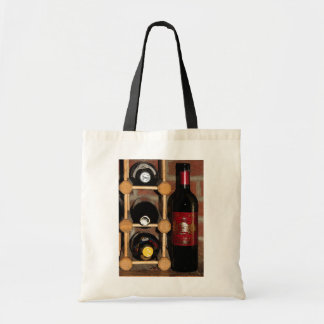 Wine Rack Abstract Tote Bag