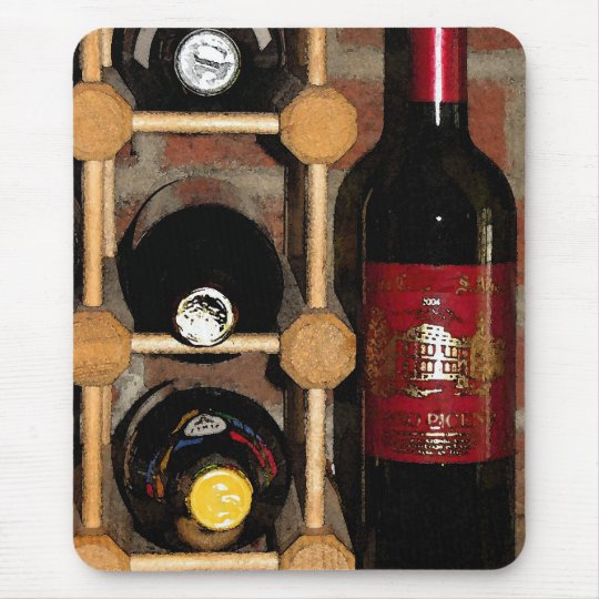 Wine Rack Mouse Pad