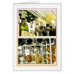 Wine racks note card