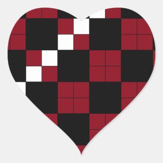 Red And Black Checkerboard Stickers  Zazzle
