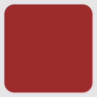 Wine red maroon square stickers