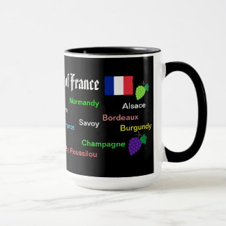 Wine Regions* of France Mug