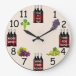 Wine Reminder Clock