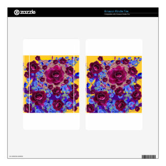 Wine Roses Morning Glories Garden Gifts Decals For Kindle Fire