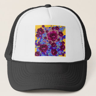 Wine Roses Morning Glories Garden Gifts Trucker Hat