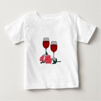 Wine & Roses T-shirt