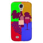 Wine Samsung Galaxy S4 Cases