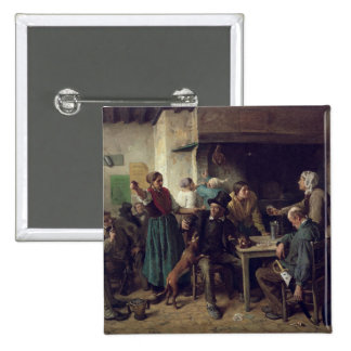 Wine Shop Monday, 1858 Pinback Button