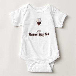 Wine Sippy Baby Bodysuit