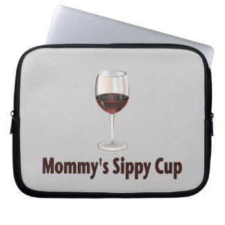 Wine Sippy Computer Sleeve