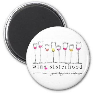 Wine Sisterhood Magnet