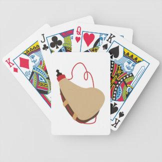 Wine Skin Bicycle Playing Cards