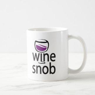 Wine Snob Coffee Mug