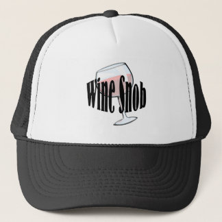 Wine Snob Trucker Hat