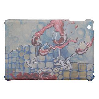 Wine Spill iPad case