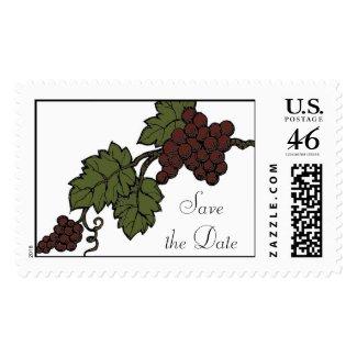 Wine stamp stamp