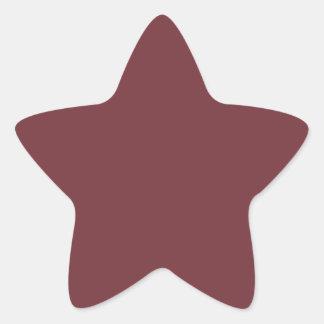 Wine Star Sticker