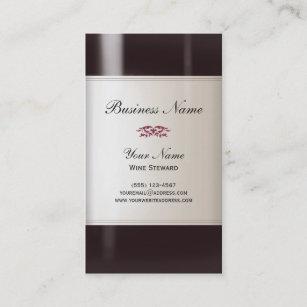 Wine business cards zazzle wine steward business card colourmoves