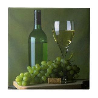 Wine Still Life Tile Trivet